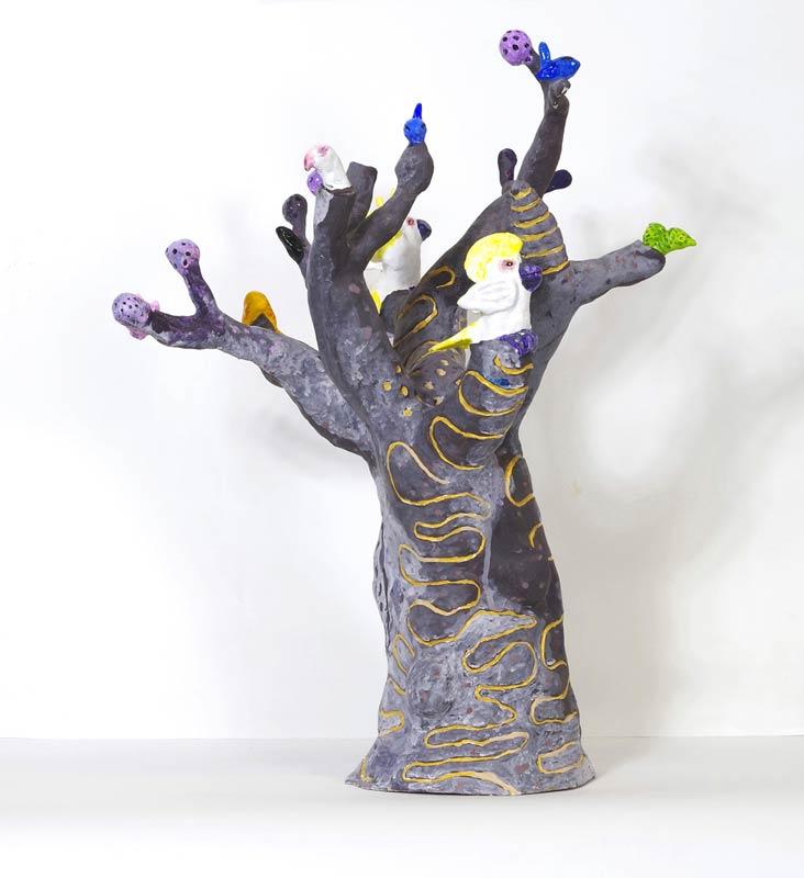 Hermansburg Tree, H47 x W35 x D35cm, 2017