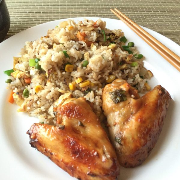 Roast Asian Chicken Wings With Soy Sauce