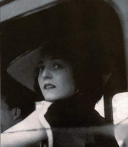 My favorite photo of my mom, in the hat I coveted