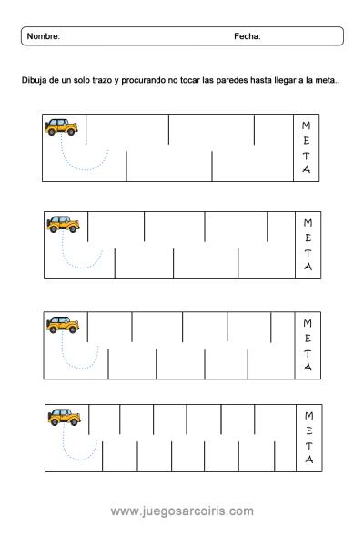 Grafia con coches