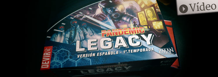 Pandemic Legacy: Unboxing