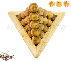piramide de bolas