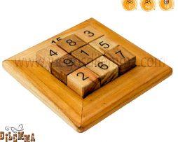 Rompecabezas cuadrado magico suma 15
