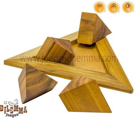 piramide de 4 piezas