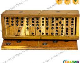 Domino 6×6 en Caja de Madera