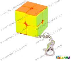 Cubo Rubik Llavero 2x2 Speedcube Mini Stickerless