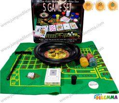 juego de póker con ruleta