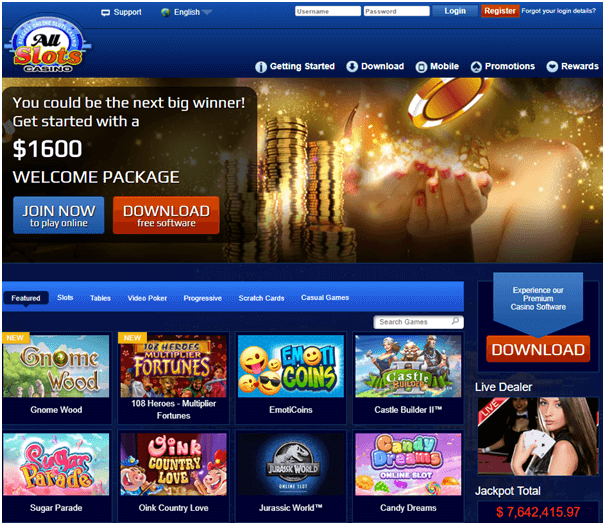 All slots casino spanish