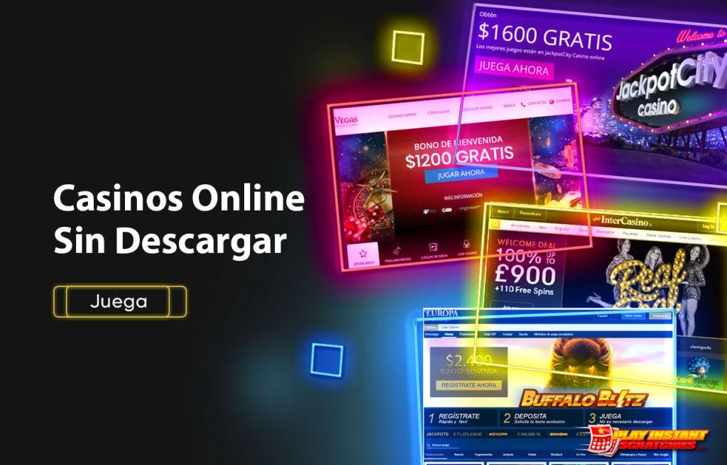 Casinos Online Sin Descargar Chile - Juega Ya