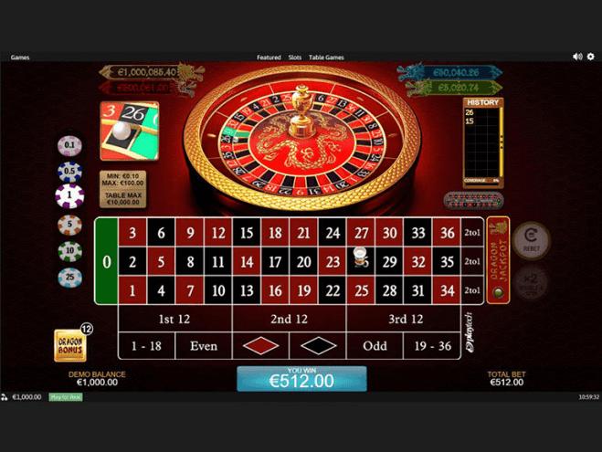 Juego de ruleta en línea para jugar en el casino en línea