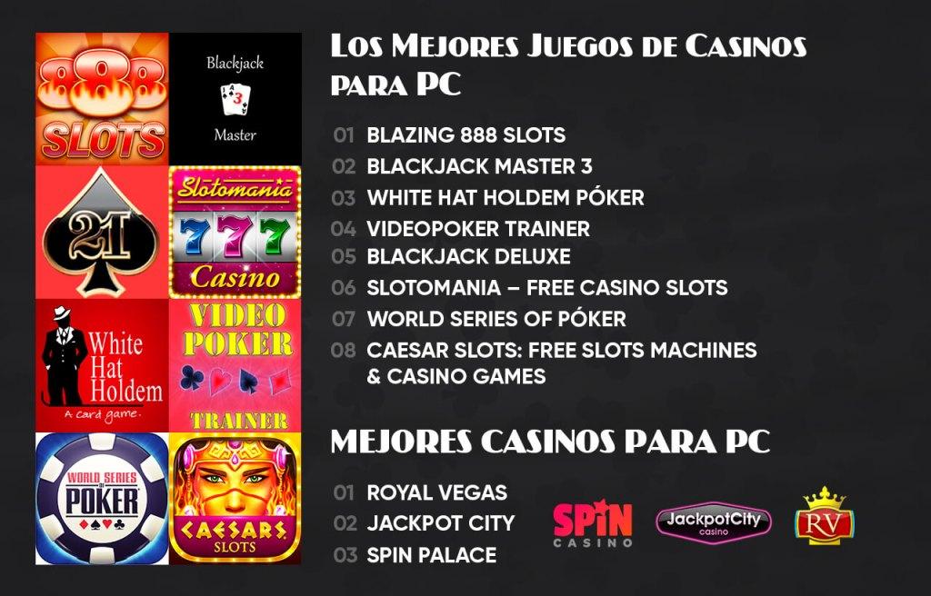 Los Mejores Juegos de Casinos para PC