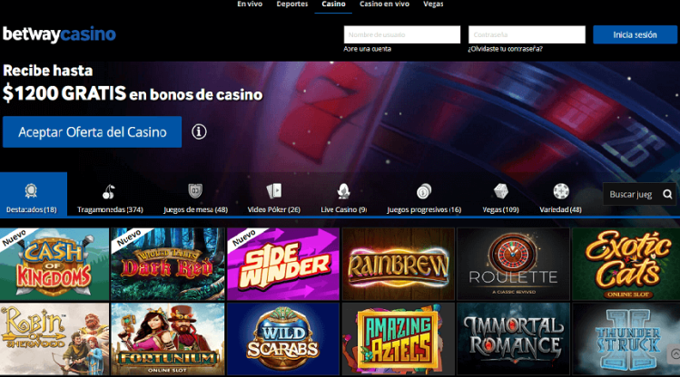 Qué es betway- Casino