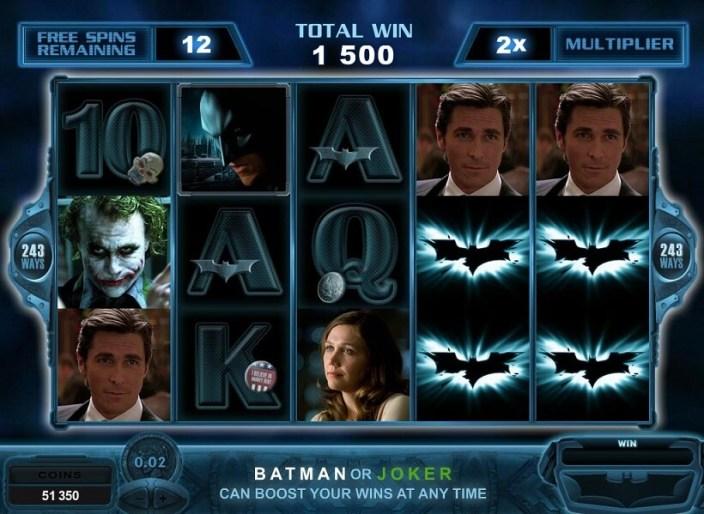 Tragamonedas con Jackpot Progresivo Dark Knight