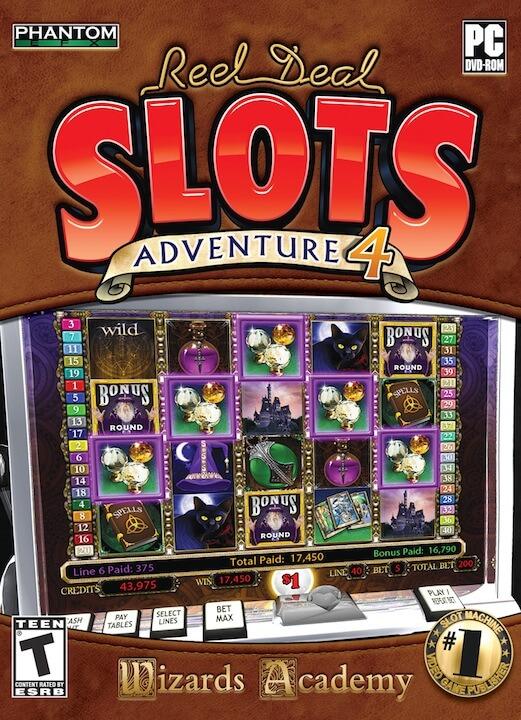 Reel Deal Slots Adventure - Conoce mas de los juegos de casino sin internet