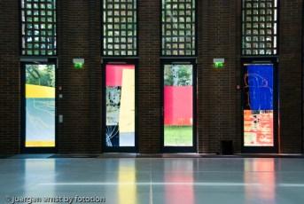 farbige Fenster