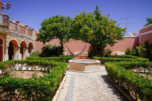 """""""Hinterhof"""" einer Stadtvilla in Faro"""