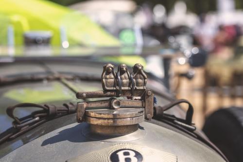 Gelungene Kühlerfigur eines Bentley