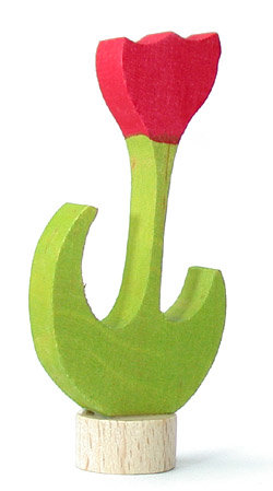 Grimms-steker-tulp-rood