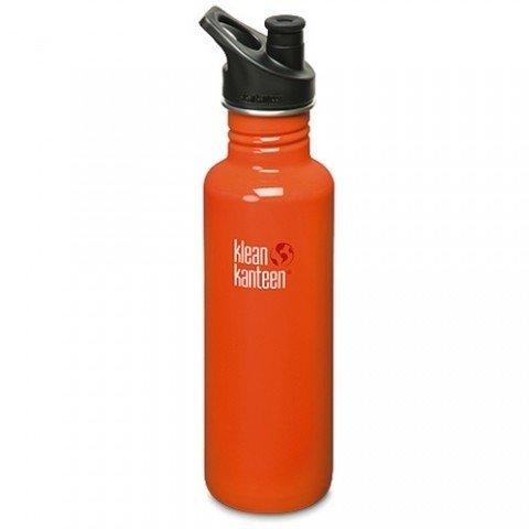 Klean-kanteen-classic-kanteen-oranje