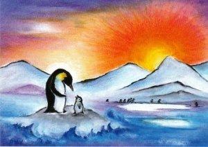 Baukje-Exler-kaart-de-pinguïn-