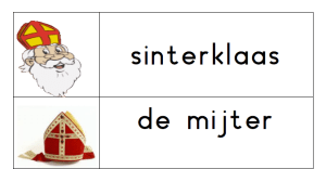 Stempelblad Sinterklaas
