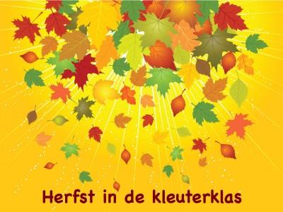 Herfst in de kleuterklas