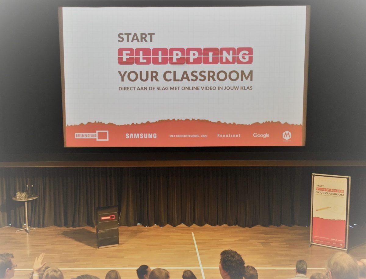 de docententraining 'Start Flipping Your Classroom'