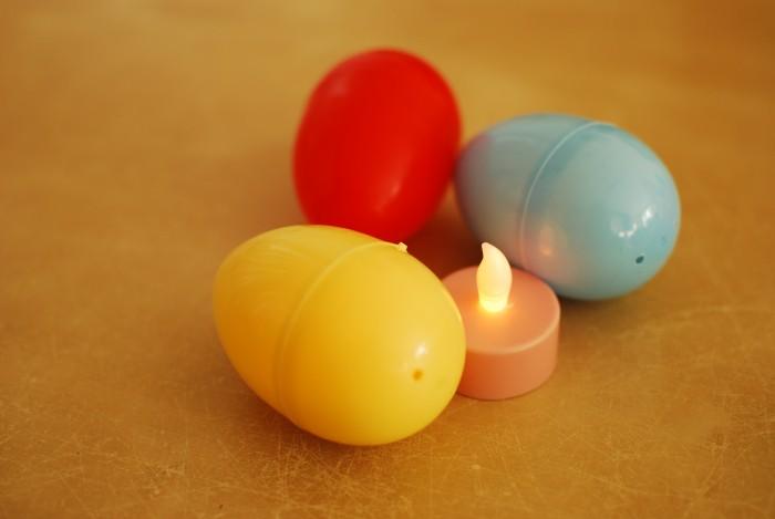 Led licht paas eieren