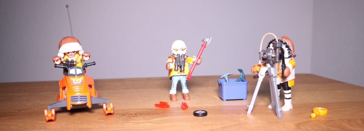 PLAYMOBIL Hoofdkwartier Poolexpeditie tools