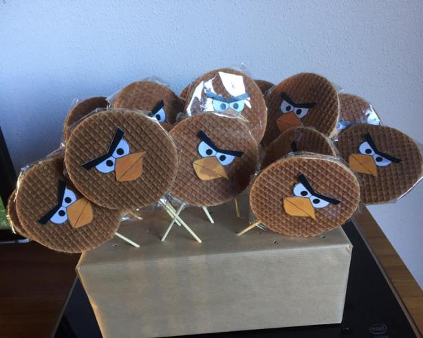 Stroopwafel Angry Birds