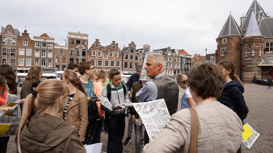 Uitleg van Reinder Storm over Amsterdam toen en nu