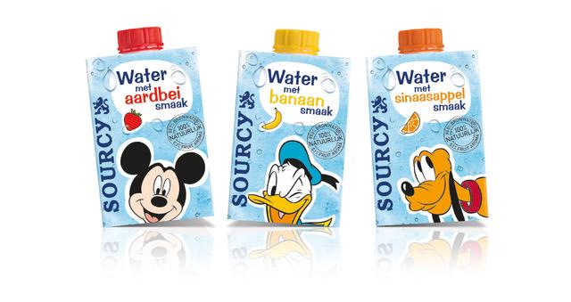 Sourcy Water met Fruitsmaakje