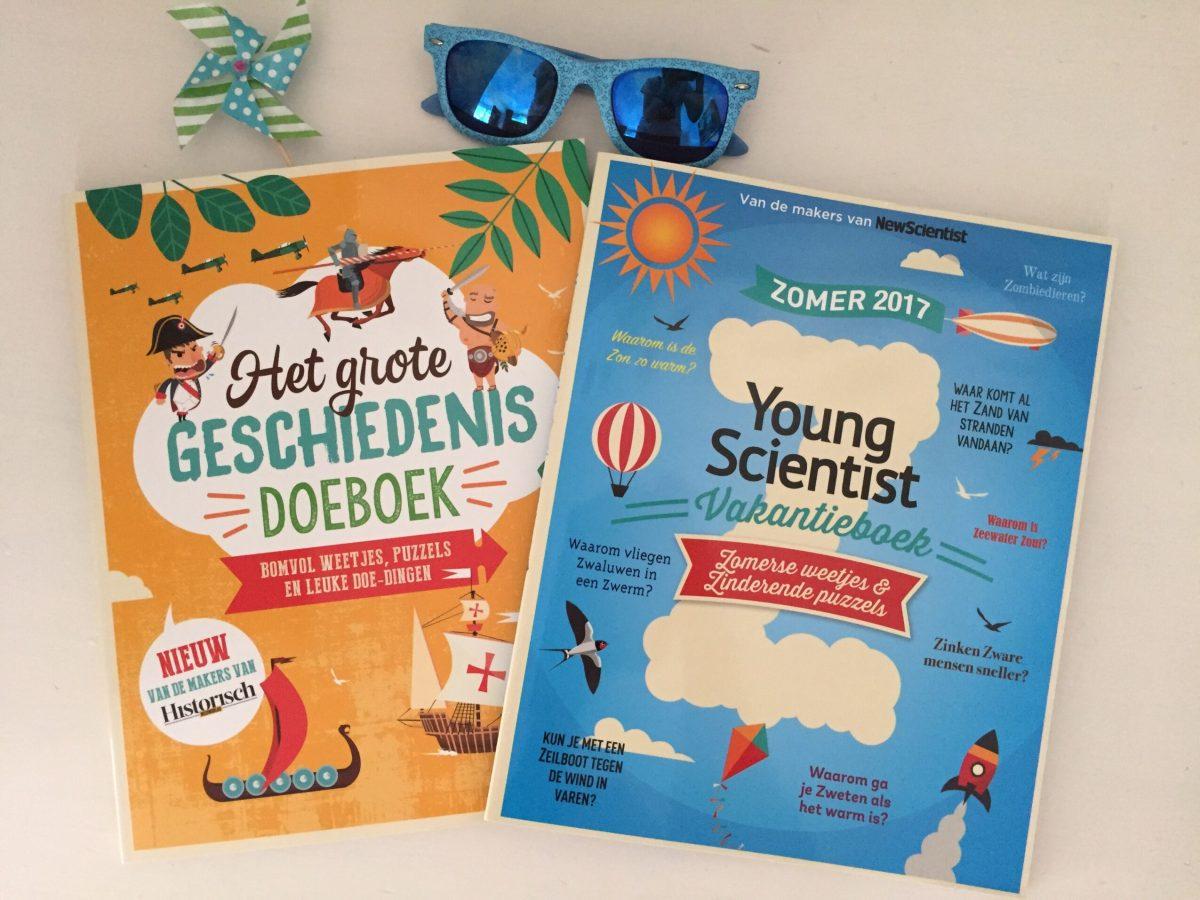 Het grote geschiedenis doeboek & Young scientist vakantieboek