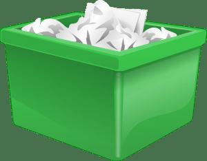 ゴミ箱 雑紙