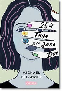 """Cover: Michael Belanger """"254 Tage mit Jane Doe"""""""