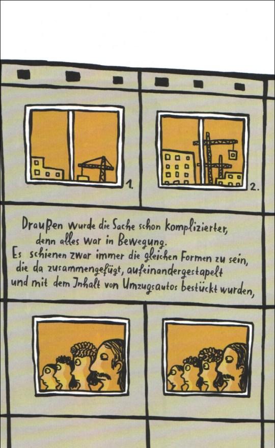 """Nadia Budde: Seite aus der Geschichte """"Fahrstuhl auf!"""""""