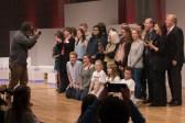 Der abschließende Fototermin mit Preisträgern und Jurymitgliedern    © Foto: Ulf Cronenberg