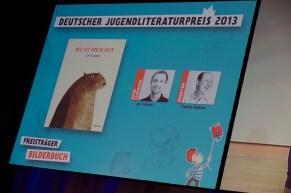 """Preisträger Bilderbuch: Jon Klassen """"Wo ist mein Hut"""" // Foto: © Ulf Cronenberg"""