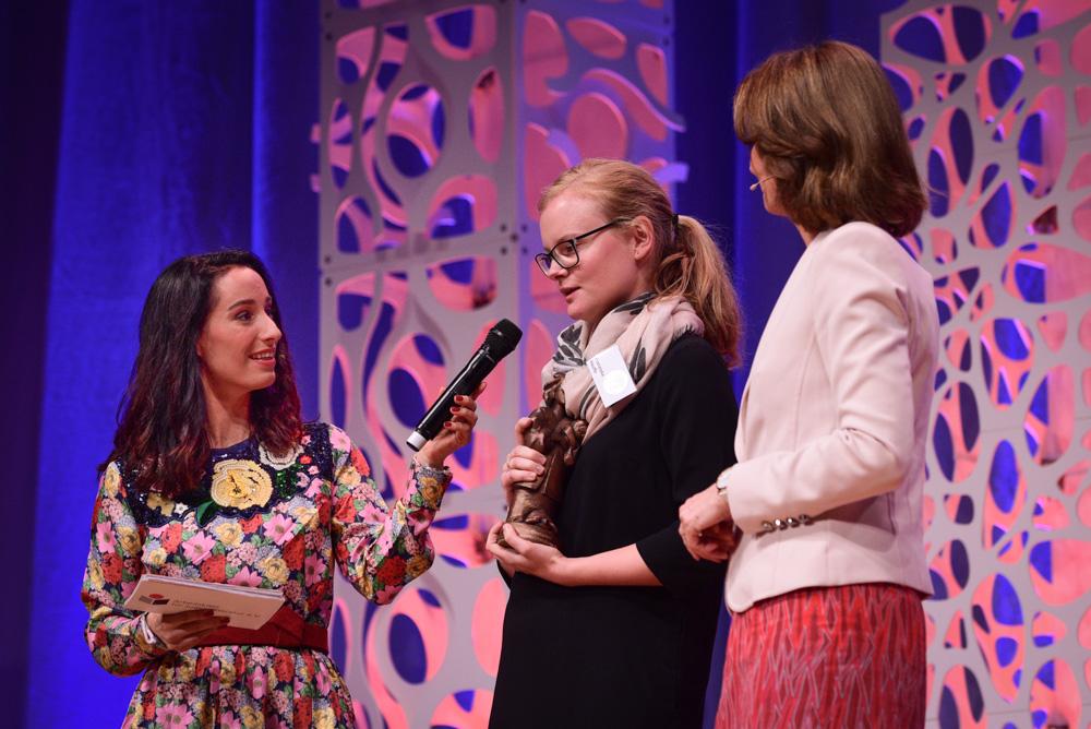 Verleihung Deutscher Jugendliteraturpreis 2017    Foto: Ulf Cronenberg