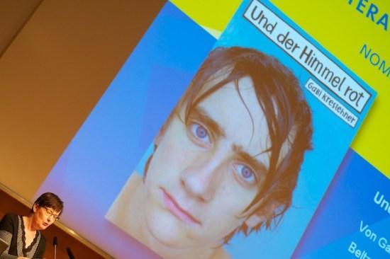 Die Bekanntgabe der Nominierungen für den Deutschen Jugendliteraturpreis 2012