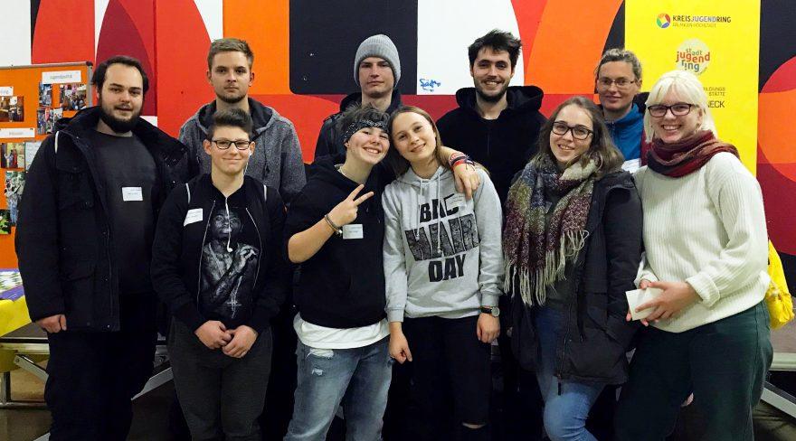 Gruppe junger Leute - die jungen HumanistInnen Nürnberg