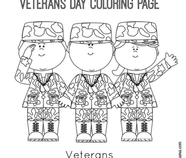 Veterans Day Printable Coloring Page Juggling Act Mama