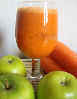 Jugo Piña, Manzana verde y Zanahoria