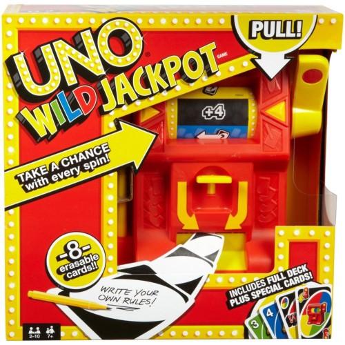 Juego Uno Wild Jackpot Mattel DNG26