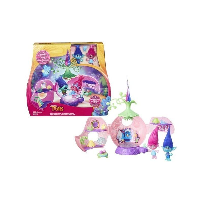 coronación princesa poppy trolls