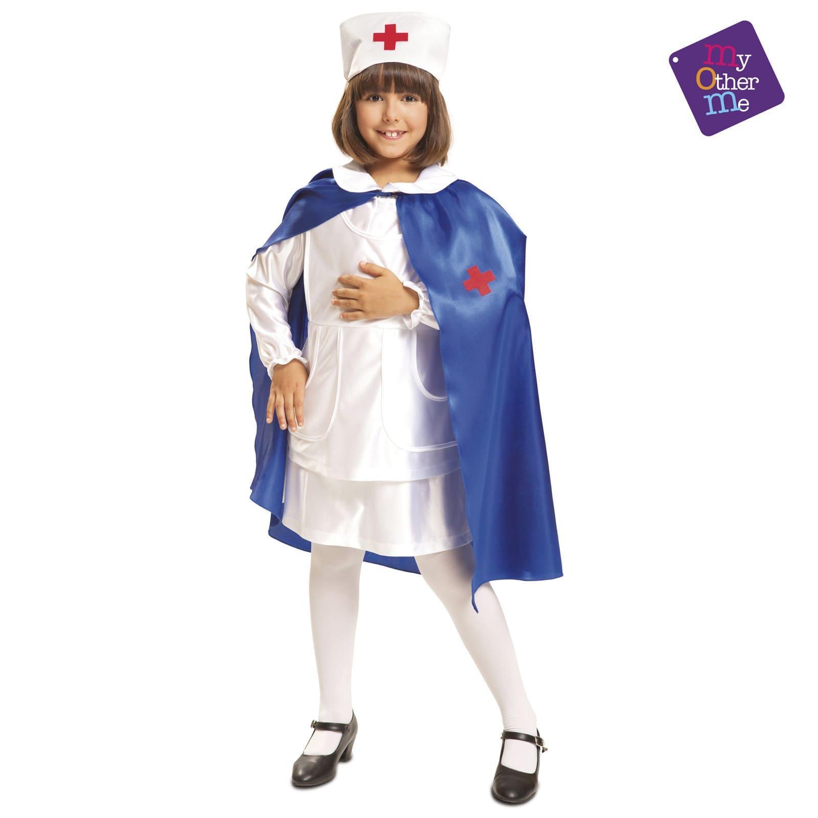 disfraz enfermera capa talla-7-9