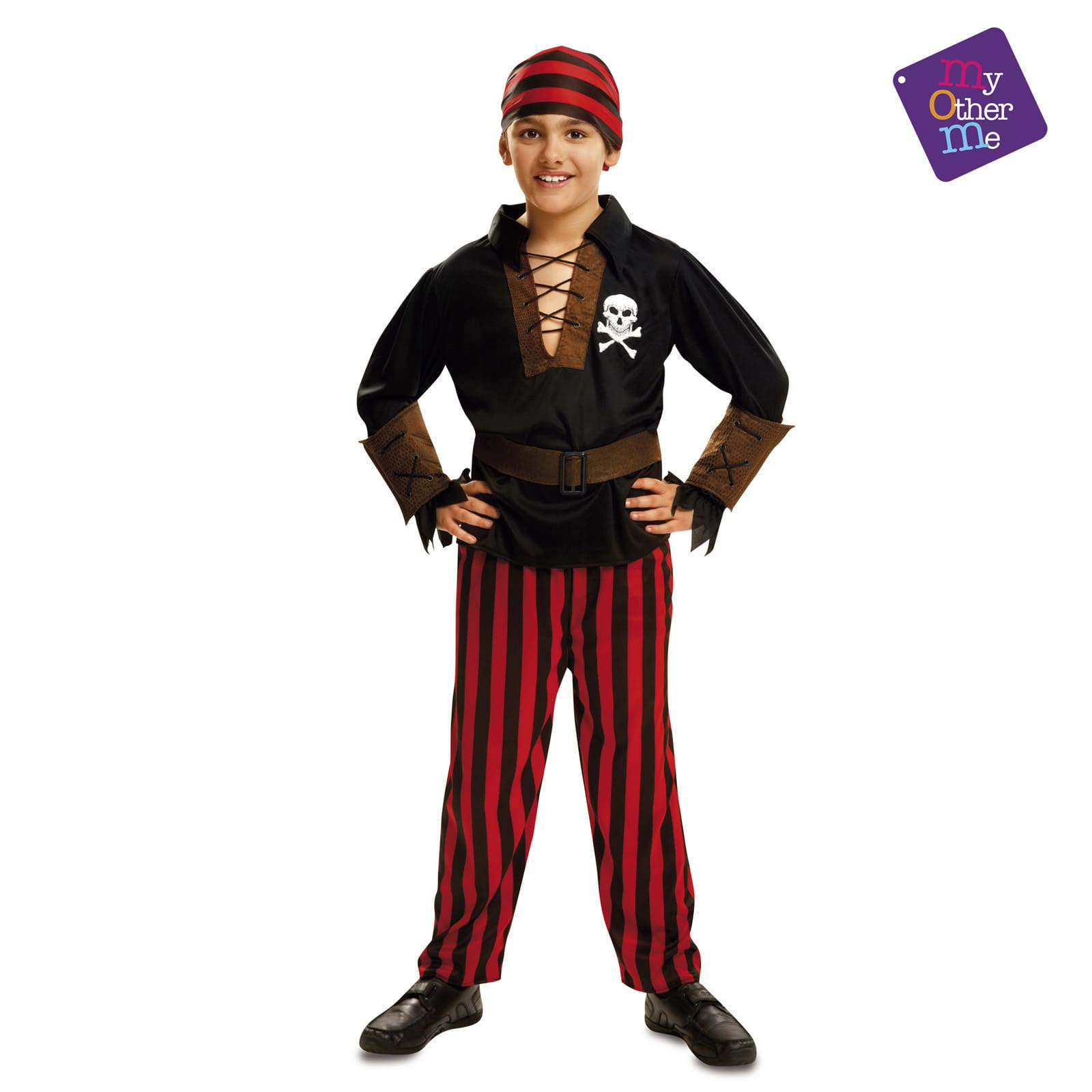 disfraz pirata bandana niño