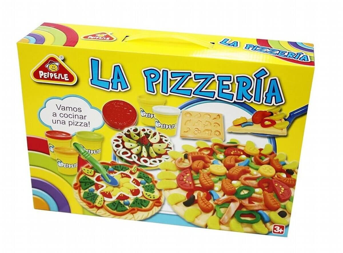 estuche plastilina pizzeria