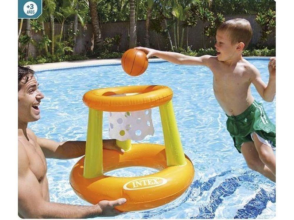 canasta balon piscina