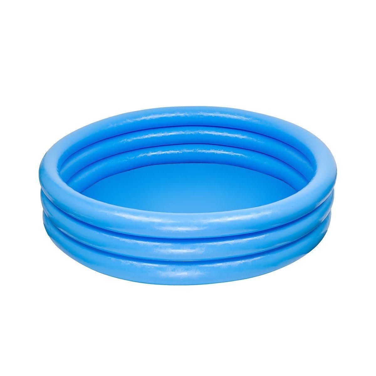 piscina hinchable 3 aros azul 114 x 25 cm